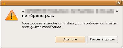 pourquoi la souris de mon ordinateur se bloque